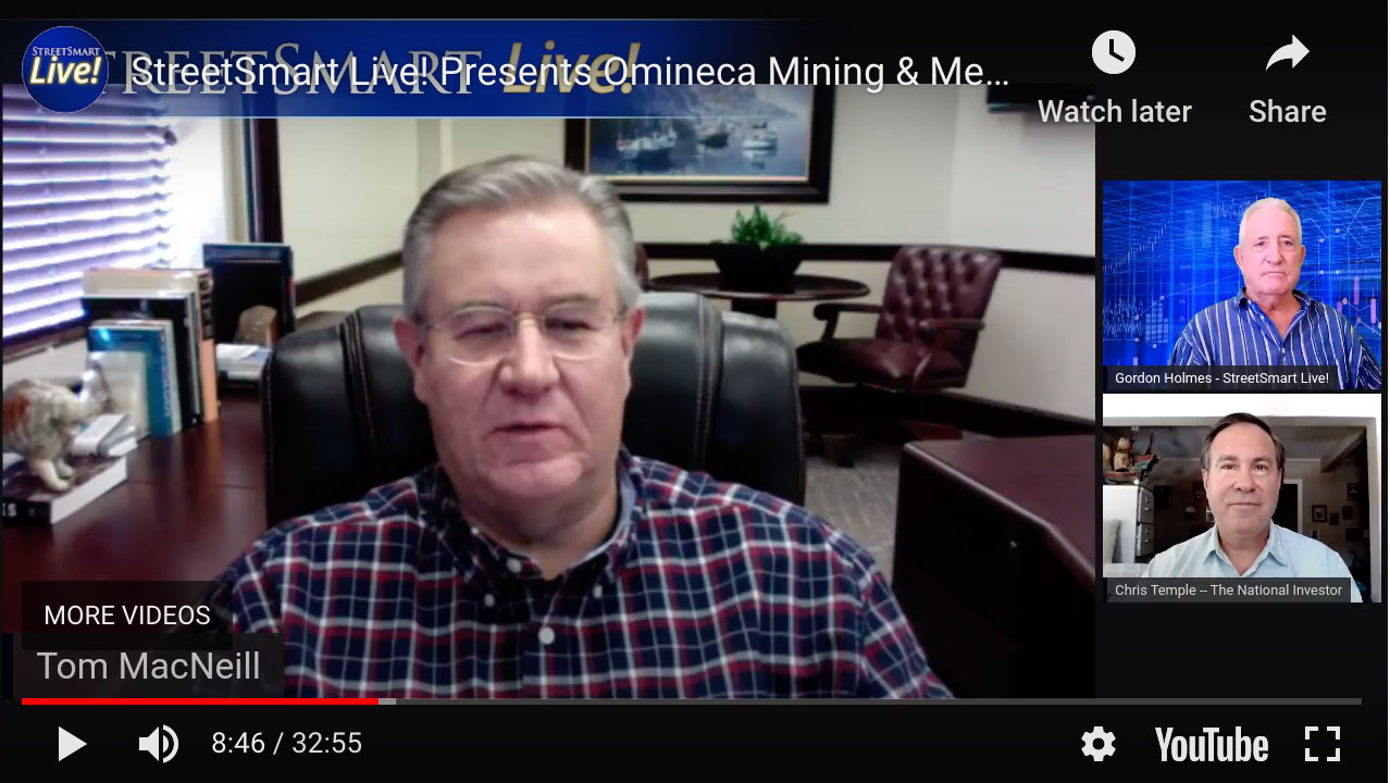 Omineca Mining and Metals Ltd