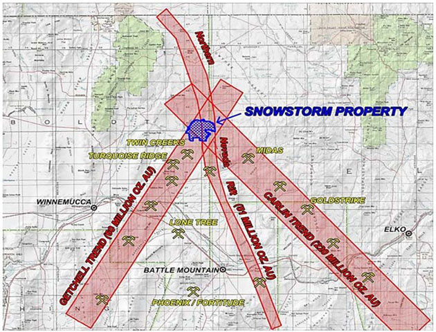 Snowstorm Property Map