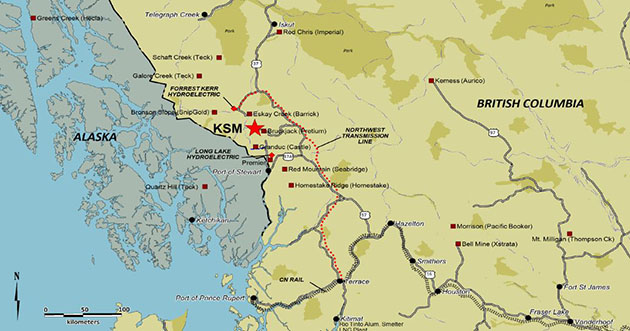 KSM Project Map