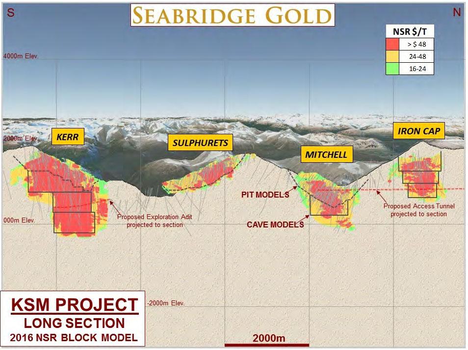 Seabridge KSM Map