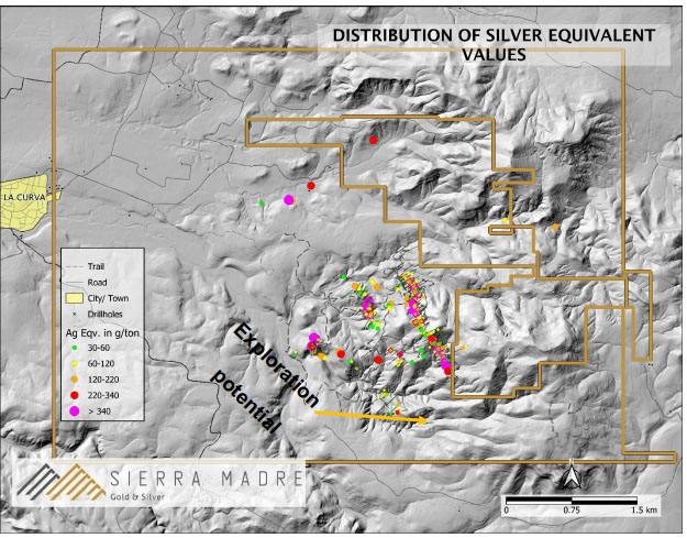 Explorer Identifies 10+ Kilometers of Mineralized Structures at Mexico Project