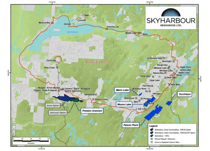 Skyharbour Project Map