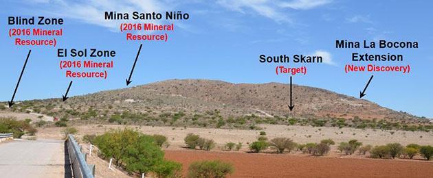 Cerro Las Minitas
