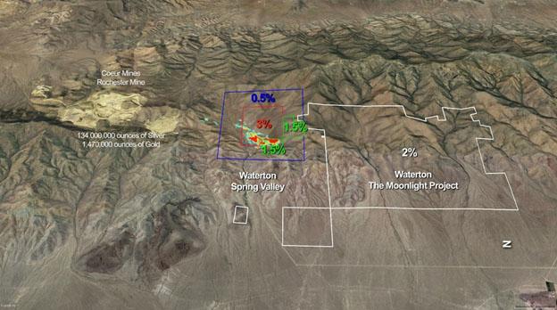 Terraco map