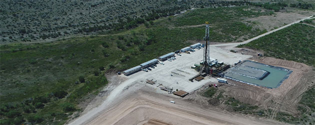 Drilling Completed on Oil & Gas Company's Well in Wolfcamp A