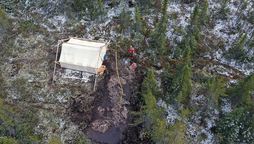 Mining Firm Reports Highest Ever In-Situ Gold Grades at Frotêt-Evans Belt in Quebec