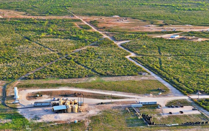 Uranium Energy Hobson Aerial View