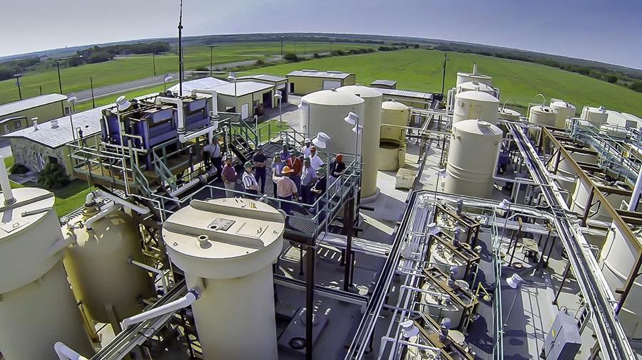Uranium Energy Site Tour