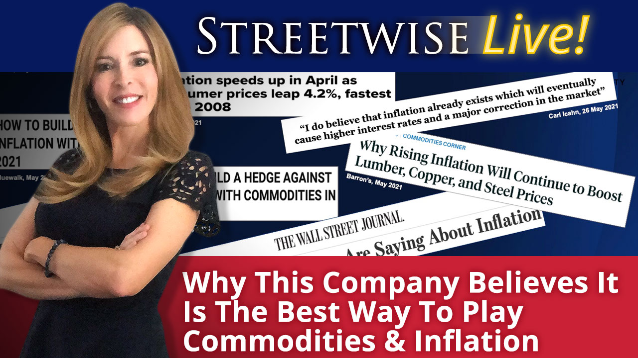 Learn why this royalty company believes it is the best way to play commodities and inflation