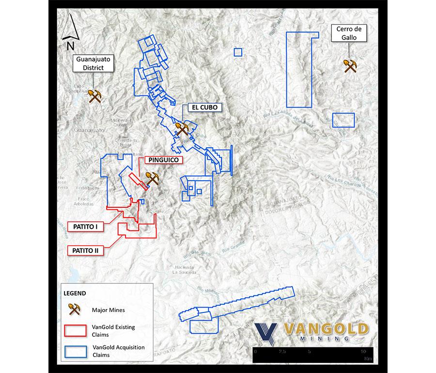 VanGold map