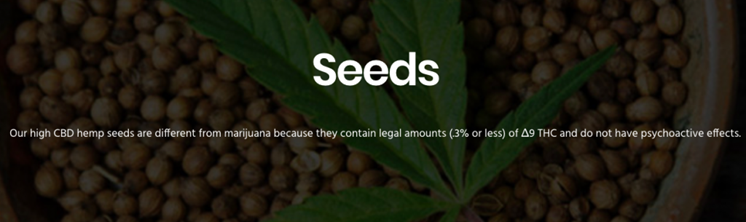 California Gold Entering High-CBD Content Hemp Seed Market