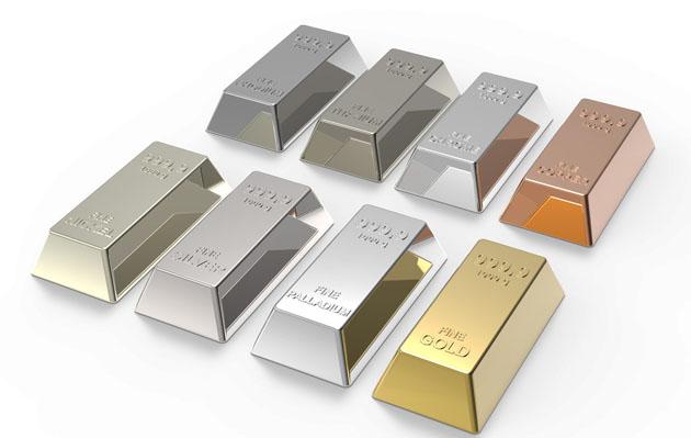 Bars of elements
