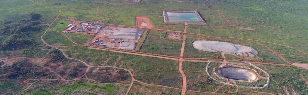 northern minerals browns range drone view