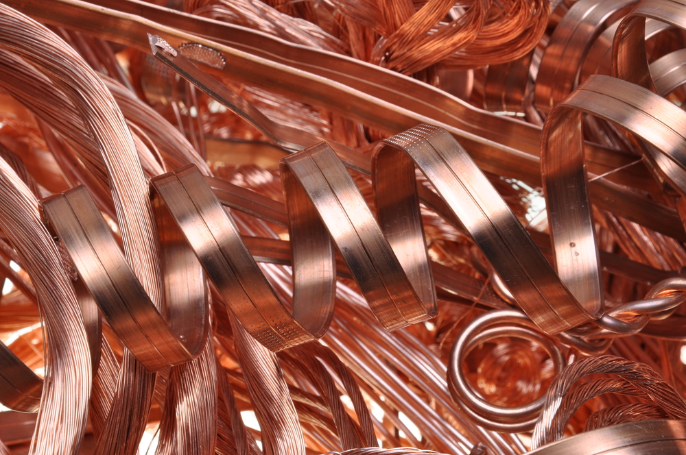 copper twirls