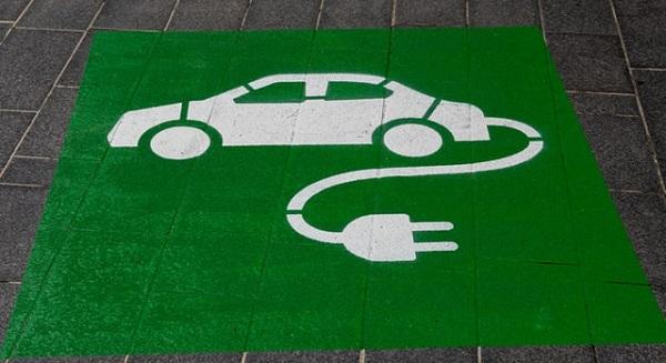electric car parking