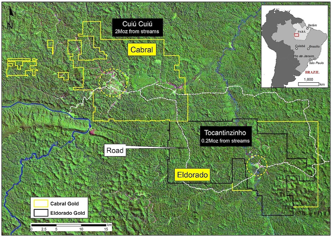 New Resource Estimate Affirms Historical Resource at Brazilian Mine