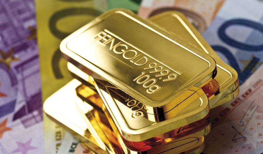 Gold and euros