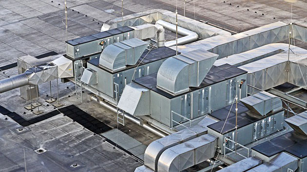 Rooftop machinery