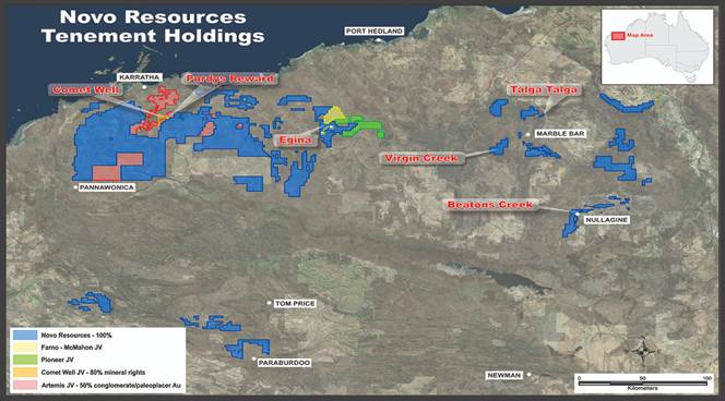 Novo Resources Tenement Holdings