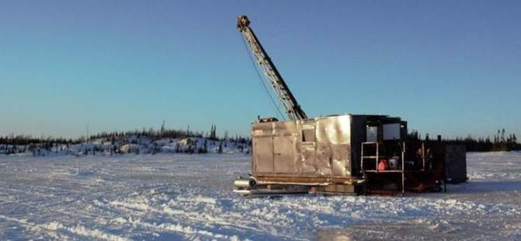 Drilling at Frotet project, Quebec