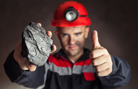 Miner Thumbs Up