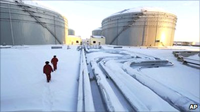 Russia-China oil pipeline