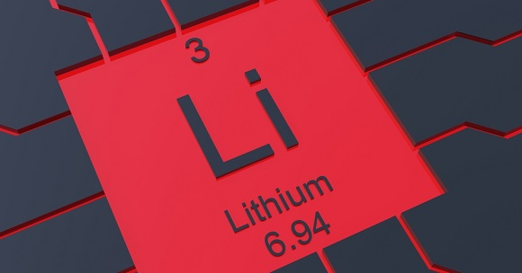 Red and black Lithium