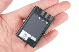lithium battery in hand
