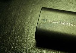 lithium battery green tint